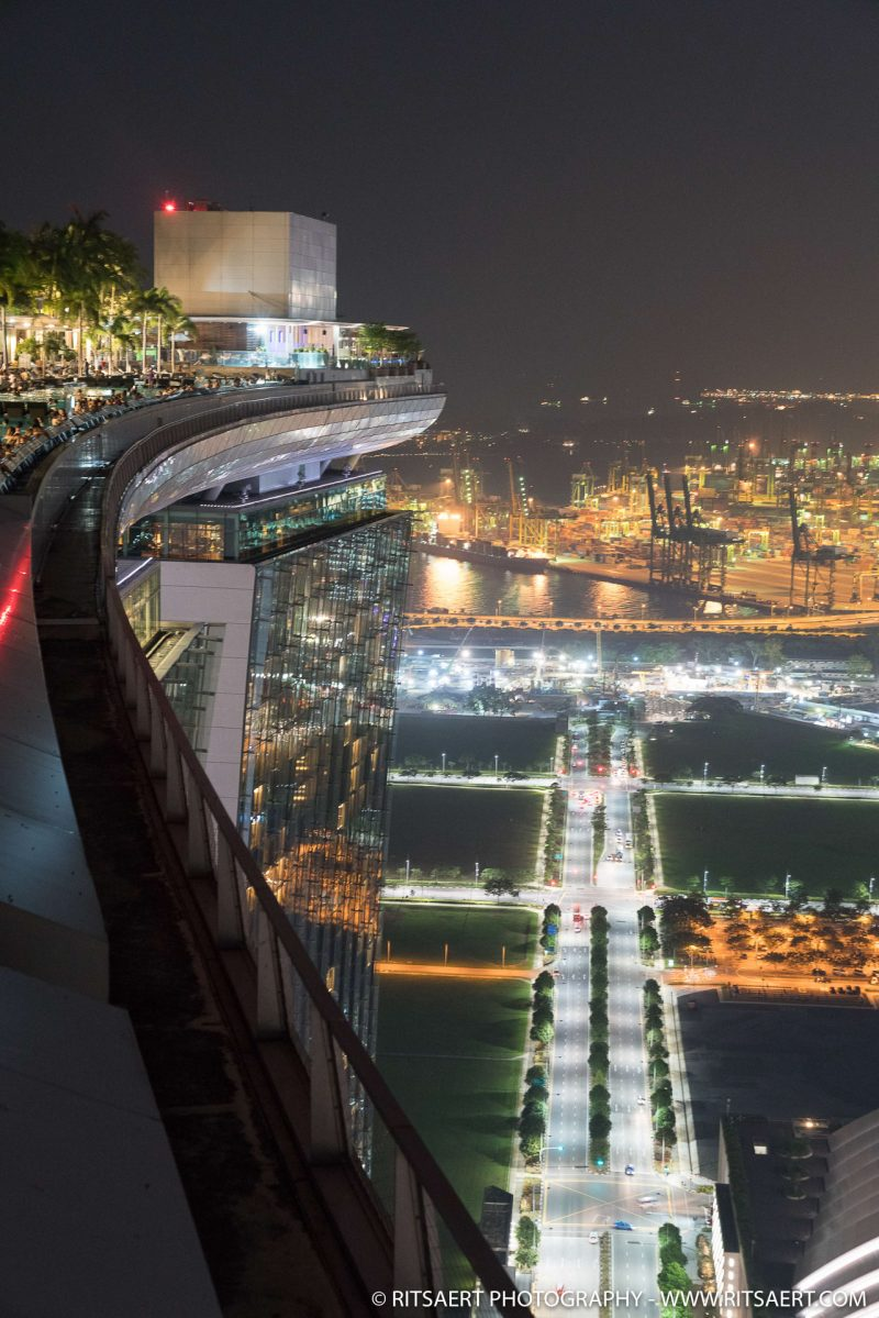 Rooftop Marina Bay Sands - Singapore