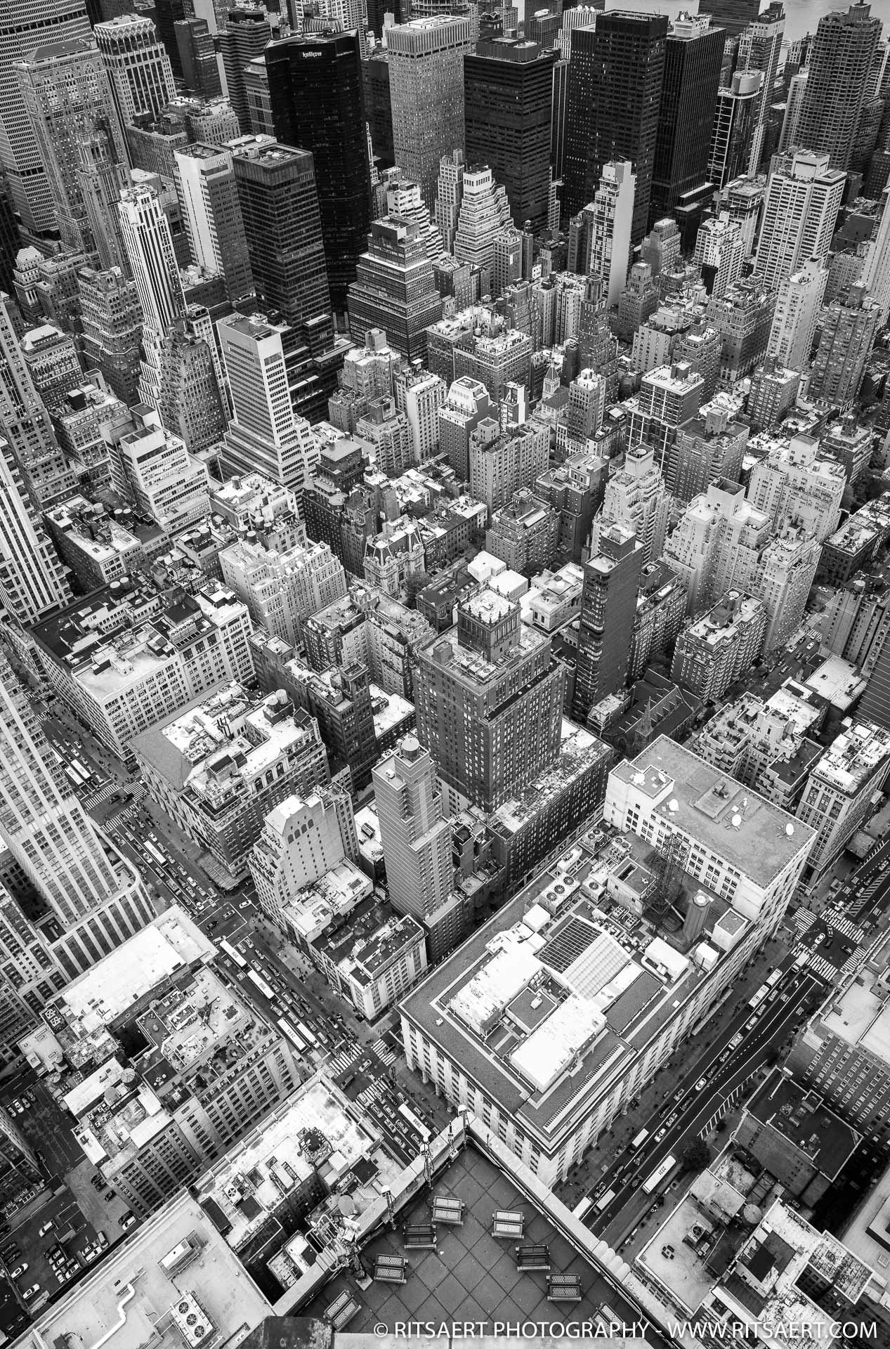 'Rooftop' Empire State Building - New York - USA
