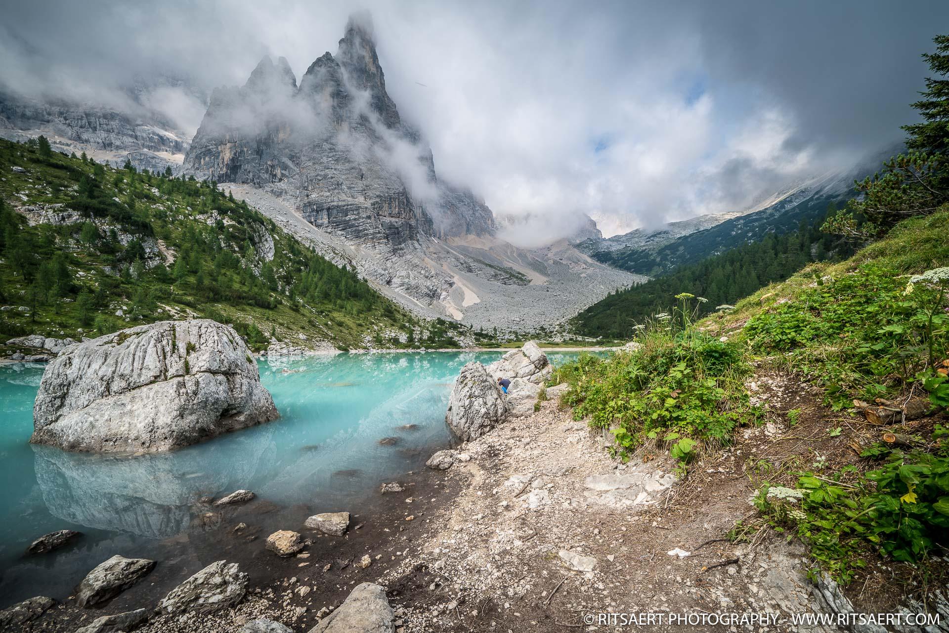Cinque Torri Dolomites Italie