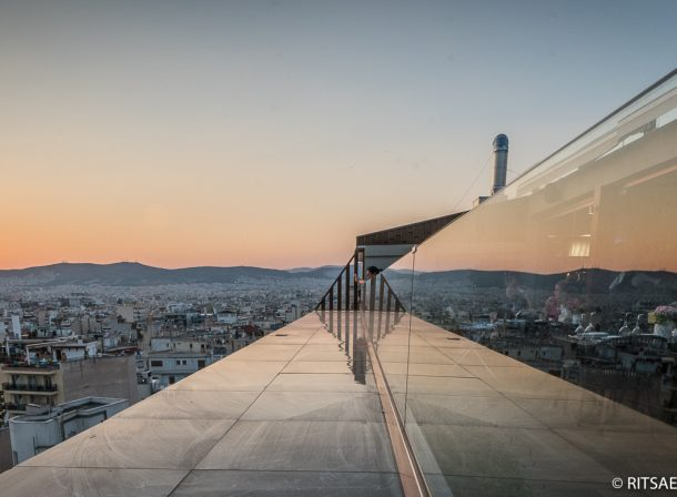 Rooftop view over Athens - Greece