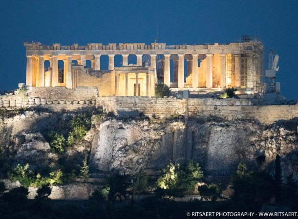 Blue hour - Athens - Greece