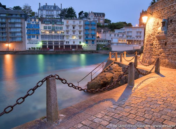 Morning light in Dinard - Bretagne - France