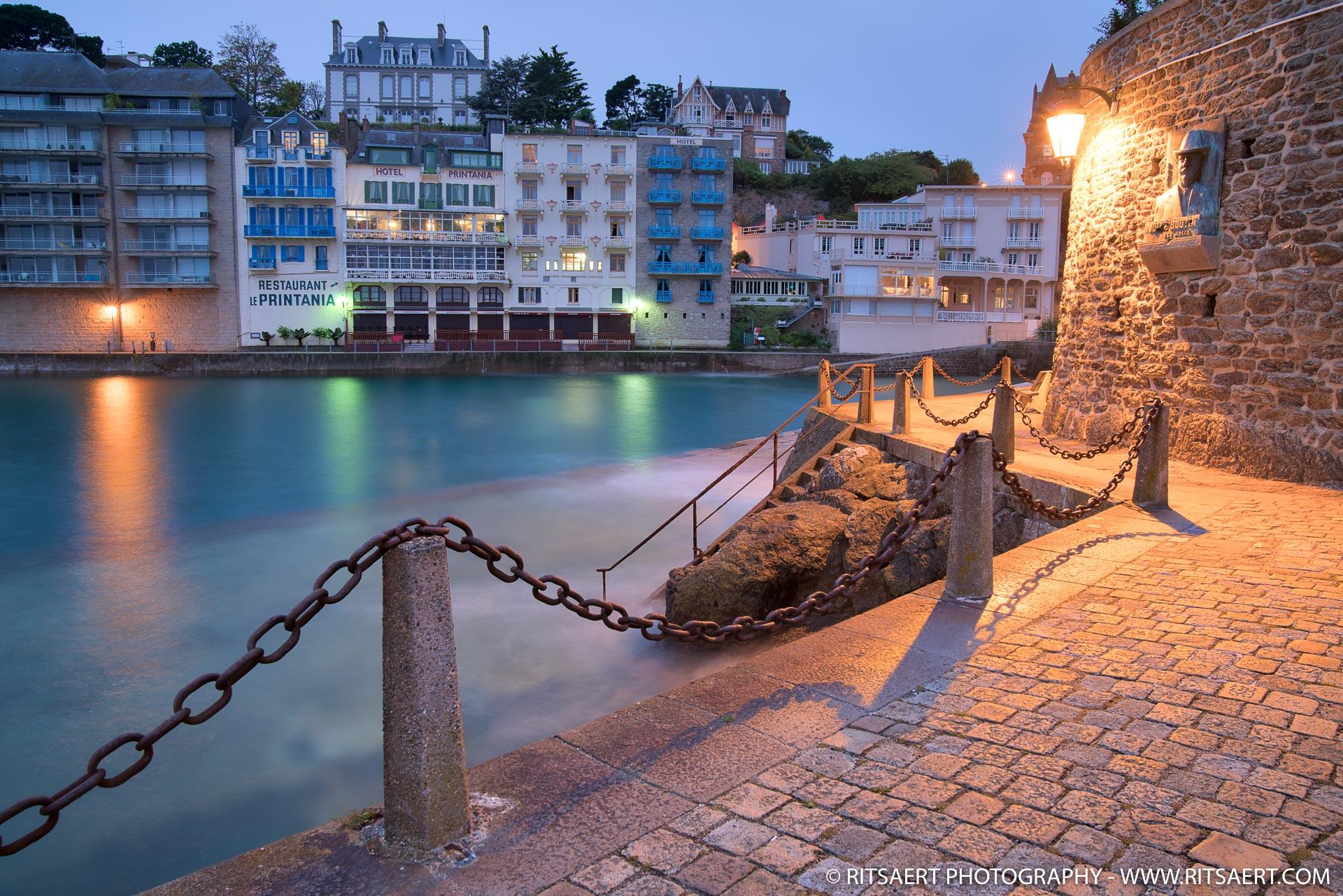 Morning light in Dinard - Bretagne - France