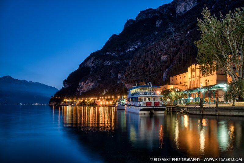 Sunset Riva del Garda - Italy