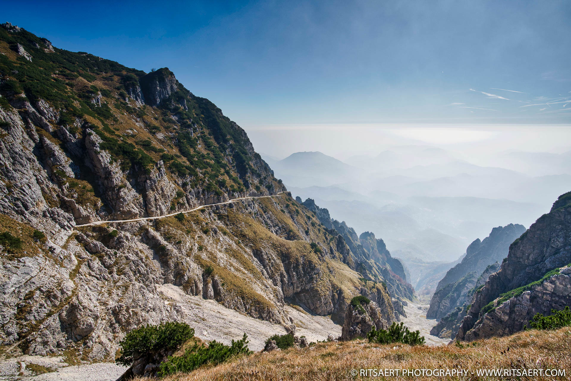 Great hike - Valli des Pasubio - Italy