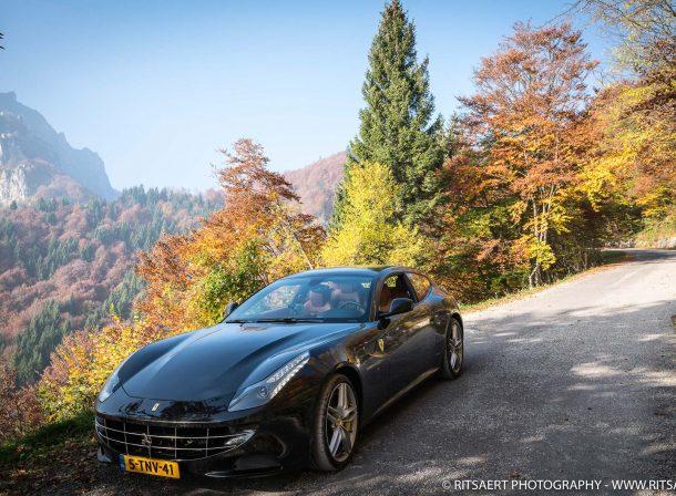 Ferrari FF at Valli des Pasubio - Italy