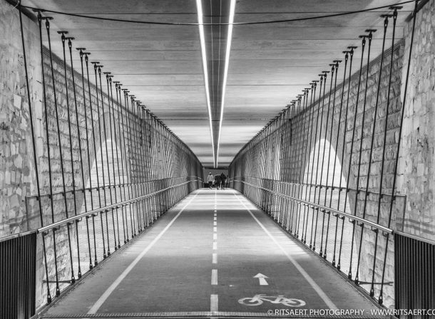 Tunnel - Luxembourg city - Luxembourg