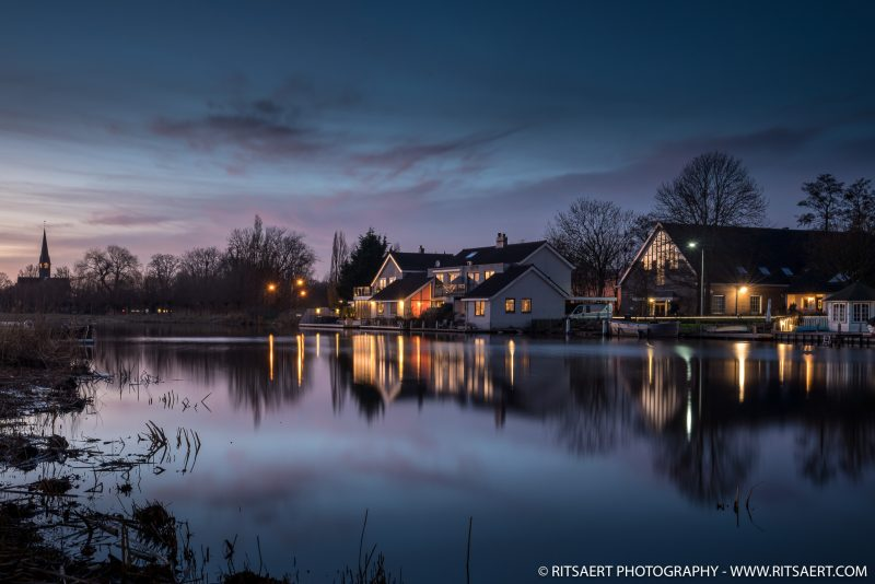 Sunset - Ouderkerk aan de Amstel - Netherlands