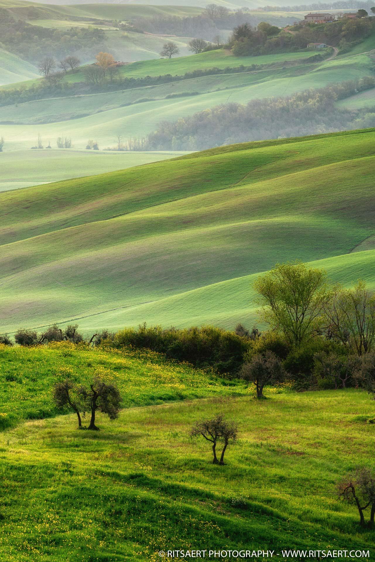 Sunrise - Tuscany - Italy